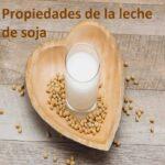 Propiedades de la leche de soja y sus beneficios